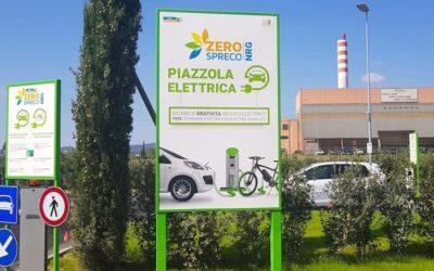 Arezzo: dai rifiuti all'energia per alimentare veicoli elettrici.